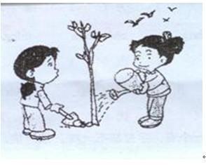 植树节作文100字